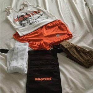 Retro style Hooter Costume
